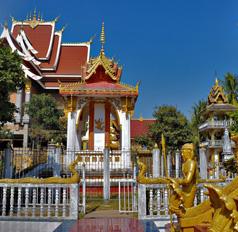Vientiane Temples in Laos